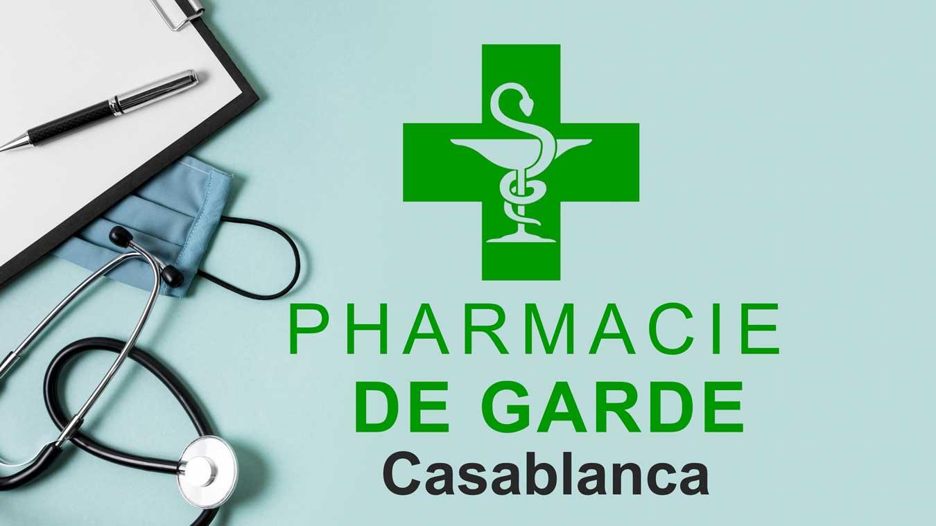 Pharmacie de Garde Casablanca